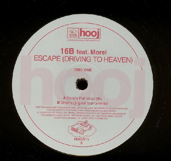 16B Feat Morel - Escape (Driving to heaven)
